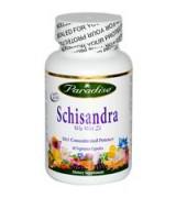 Paradise Herbs  十倍力五味子萃取  *60顆素食膠囊 - Schisandra