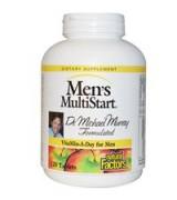Natural Factors   男性綜合維他命 *120錠 -  Men's MultiStart 含: 鋸棕櫚 薑黃