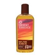 Desert Essence  100%純荷荷巴油  * 4 fl oz (118 ml) - Jojoba Oil 適用卸妝和清潔堵塞的毛孔 滋潤肌膚