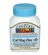 21st Century   鈣鎂鋅+ D *90錠 - Cal Mag Zinc + D
