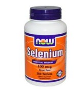 Now Foods   硒  100mcg* 250錠 - Selenium