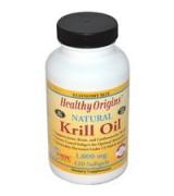 Healthy Origins 南極磷蝦油 天然香草味 1000mg*120粒 -Krill Oil