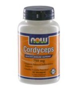NOW Foods  有機蟲草  冬蟲夏草  750 mg* 90素食膠囊 -  Cordyceps
