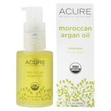Acure Organics   液體黃金  有機摩洛哥堅果油  * 1 fl oz (30 ml) - Moroccan 修復肌膚缺陷  減少疤痕+妊娠紋  同時彈性和色澤