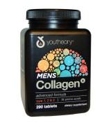 Youtheory   男士頂級膠原蛋白配方  含: 第一,二,三型 *290錠 Men's Collagen