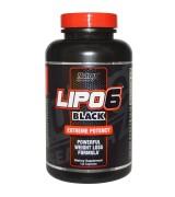 Nutrex  Research  黑LIPO 6 Black 熾天使 終極熱力燃脂劑*120顆 - Lipo 6 Black
