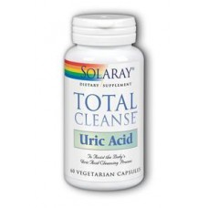 SOLARAY  尿酸淨化  痛風適用 * 60顆素食膠囊 - Total Cleanse™ Uric Acid