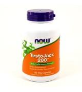 NOW Foods  男性睪丸酮促進素200 - *120顆素食膠囊 - TestoJack 200 ™