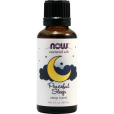 NOW Foods  寧靜睡眠精油  * 1 oz (30ml) ~ Peaceful Sleep 花香柑橘味  舒緩 放鬆