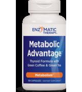 Enzymatic Therapy 新陳代謝甲狀腺素 *180顆 - Metabolic Advantage Thyroid Formula