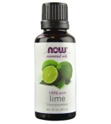 NOW Foods 萊姆精油 100%純 * 1 oz (30ml) ~ Lime Oils,  振奮,令人耳目一新