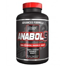 Nutrex  Research  黑戰 Anabol 5 Black  非甾體類固醇劑  *120顆 - Anabol 5, Black 適合重量訓練  緩和肌肉疲勞