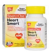 Super Nutrition  全能心血管健康 *60片 -  Heart Smart   野生漿果咀嚼片  含: D-核糖  ADK2