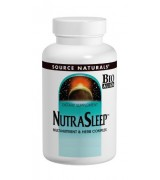 Source Naturals  睡寶複方  *200錠 - NutraSleep™ 含: GABA 西番蓮 纈草根 洋甘菊