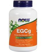 NOW Foods   EGCG 綠茶萃取  400mg*180顆素食膠囊 無咖啡因 - EGCg, Green Tea Extract
