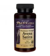 Swanson    10倍力野燕麥 提升男性耐力10:1  - 575mg*60 顆 -  Avena Sativa