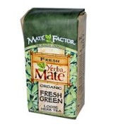 Mate Factor  有機瑪黛茶   鮮綠原葉 * 12 oz (340 g) - Organic Yerba Mate Fresh Green