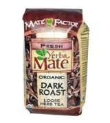 Mate Factor  有機瑪黛茶  焗啡原葉 * 12 oz (340 g) - Organic Yerba Mate, Dark Roast