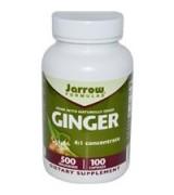 Jarrow Formulas  有機生薑 4倍濃縮  500mg*100膠囊 -  Ginger  4:1 Concentrate