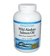 Natural Factors 阿拉斯加 野生鮭魚油 1000 mg* 180粒 - Wild Alaskan Salmon Oil