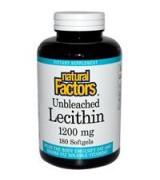 Natural Factors   天然卵磷脂  1200 mg*180粒  - Lecithin