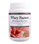 Natural Factors   100%天然乳清蛋白粉 * 12 oz (340 g) 天然濃郁巧克力口味 - Whey Factors