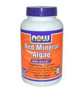 Now Foods   天然紅藻精華  含: 鈣 鎂 維生素D *180顆素食膠囊 - Red Mineral Algae