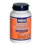 NOW Foods   乙醯 左旋肉鹼  500mg*100顆素食膠囊-  Acetyl-L Carnitine