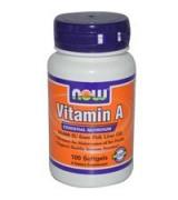 NOW Foods   維生素A  維他命A   10,000 IU  * 100粒 -  Vitamin A
