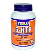 NOW Foods   5-HTP 5-羥基色胺酸 (100mg*120顆素食膠囊) - 5HTP