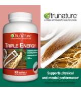 Trunature® 三效複方 人蔘萃取精華 添加刺五加   *300粒 - Triple Energy Ginseng with Eleuthero