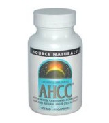 Source Naturals   AHCC 擔子菌多醣體精華 ( 500mg* 60顆) - 米蕈多醣體 AHCC
