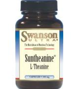 swanson  茶胺酸 (100mg *60顆) - L-Theanine  茶氨酸