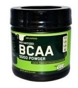 ** 效期至2021/06**月美國 Optimum Nutrition BCAA 5000 支鏈胺基酸 粉末裝 *345公克12.15盎司 (無味)