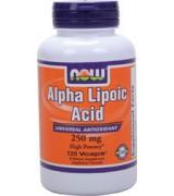 NOW Foods  硫辛酸  (250 mg*120顆) - Alpha Lipoic Acid