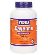 NOW Foods 唐辛子 500 mg *250顆 - Cayenne