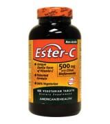 American Health 酯化維他命C (500mg 柑橘生物類黃酮 鈣*450錠) -Ester-C