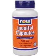 NOW Foods   肌醇 500mg *100 顆~ Inositol Capsules