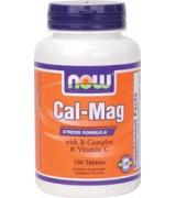 NOW Foods  綜合維他命B群+ 維他命C + 鈣 鎂 *100 錠 - Cal-Mag 維生素B群 維生素C