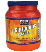 NOW Foods  左旋麩醯胺酸 顧他命 1 公斤裝 (35.3 oz ) L-Glutamine Powder - 麩醯氨酸