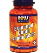 NOW Foods  支鏈胺基酸 * 240顆 ~Branched Chain Amino Acids BCAA