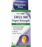 NATROL  強力 DHA  超強魚油  500 mg + EPA 40 mg  *30粒
