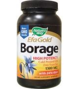 Nature's Way 冷壓琉璃苣油 (1300 mg * 60粒) Borage Oil