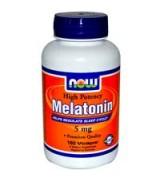 NOW Foods   高效力褪黑激素  5mg*180顆素食膠囊 - Melatonin, High Potency