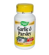 Nature's Way  大蒜精+荷蘭芹  545mg*100顆 - Garlic & Parsley